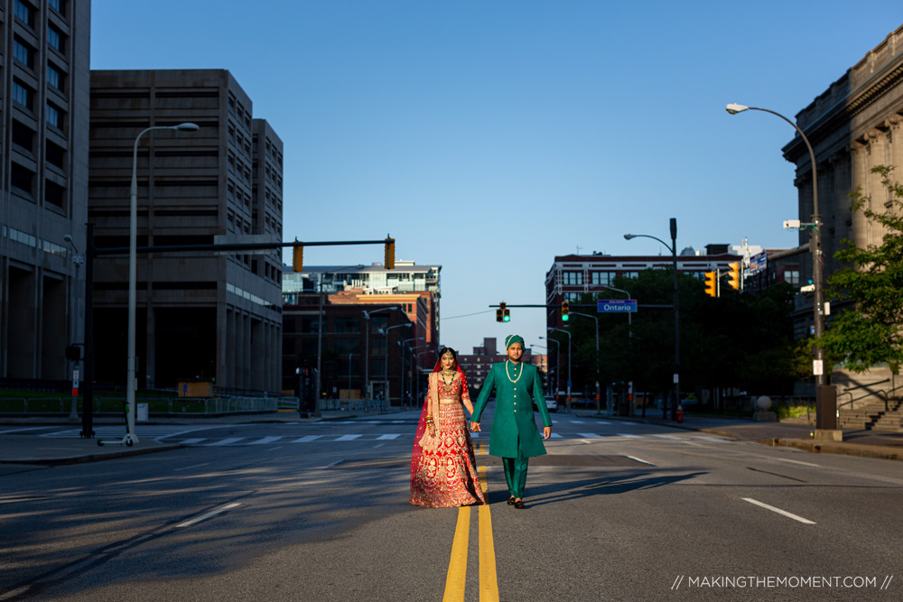 Indian Wedding Downtown Cleveland Photographers