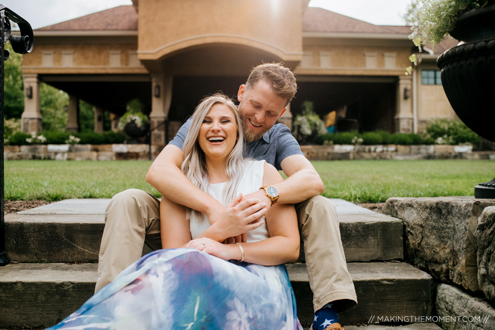 Outdoor Engagement Session Cleveland Photographer