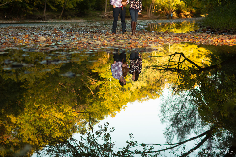Fall Outdoor Engagement Session Ideas Cleveland