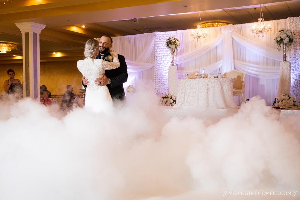 Ballroom Venue Cleveland Wedding Reception Photographer