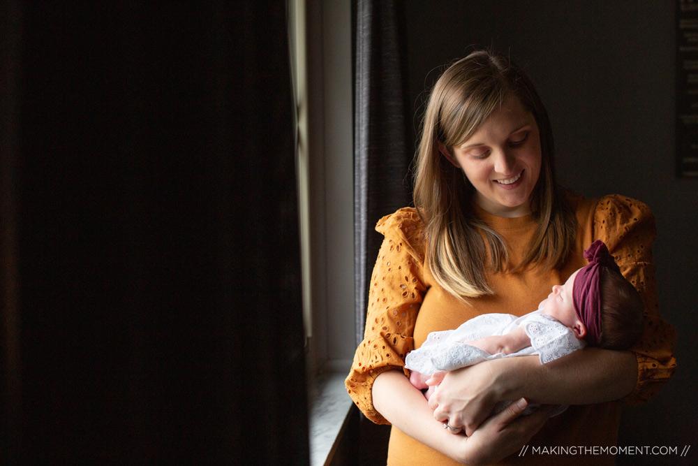 Newborn Photojournalistic Session Ideas Cleveland
