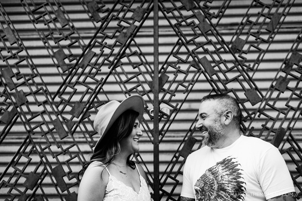 Industrial Fun Engagament Session Cleveland