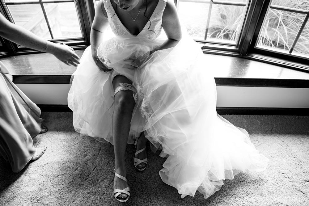 Wedding Bride Shoes Details Cleveland Photographer