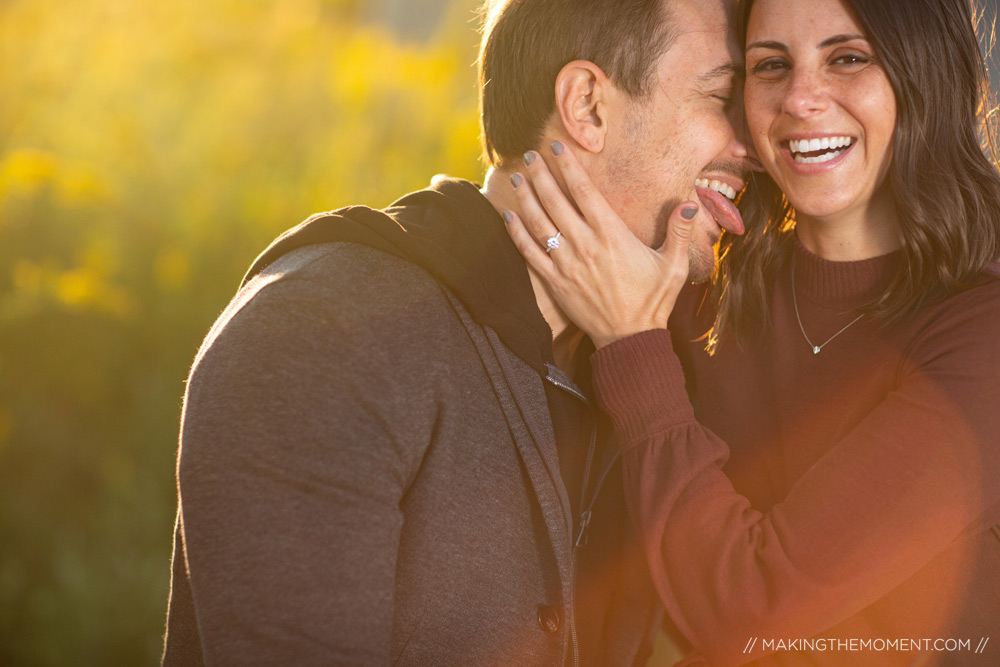 Cute Fun Engagement Session Ideas Cleveland