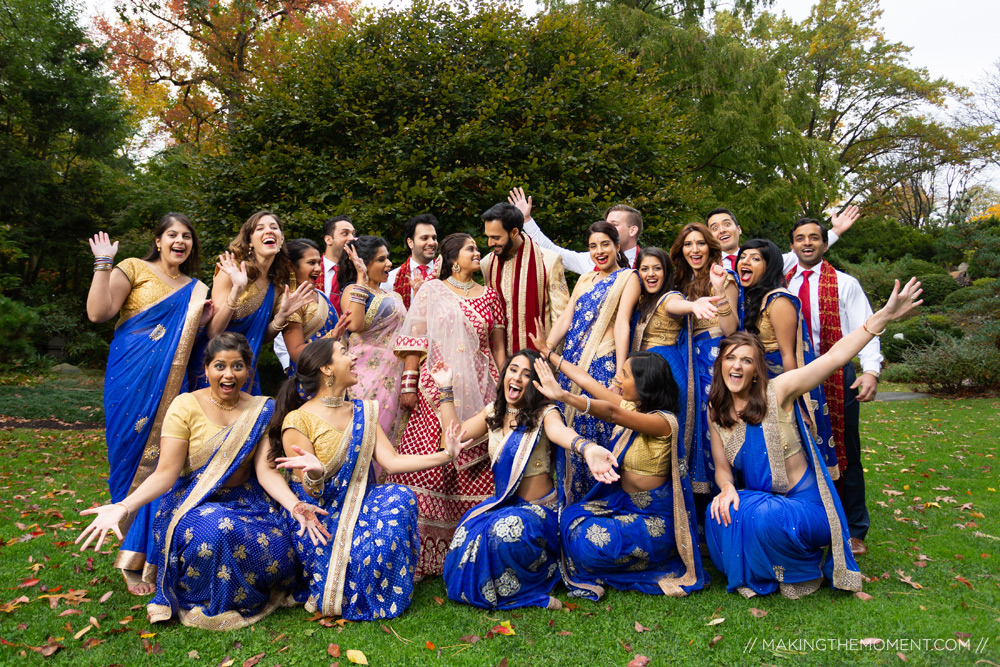Indian Bridal Party Best Photographer Cleveland
