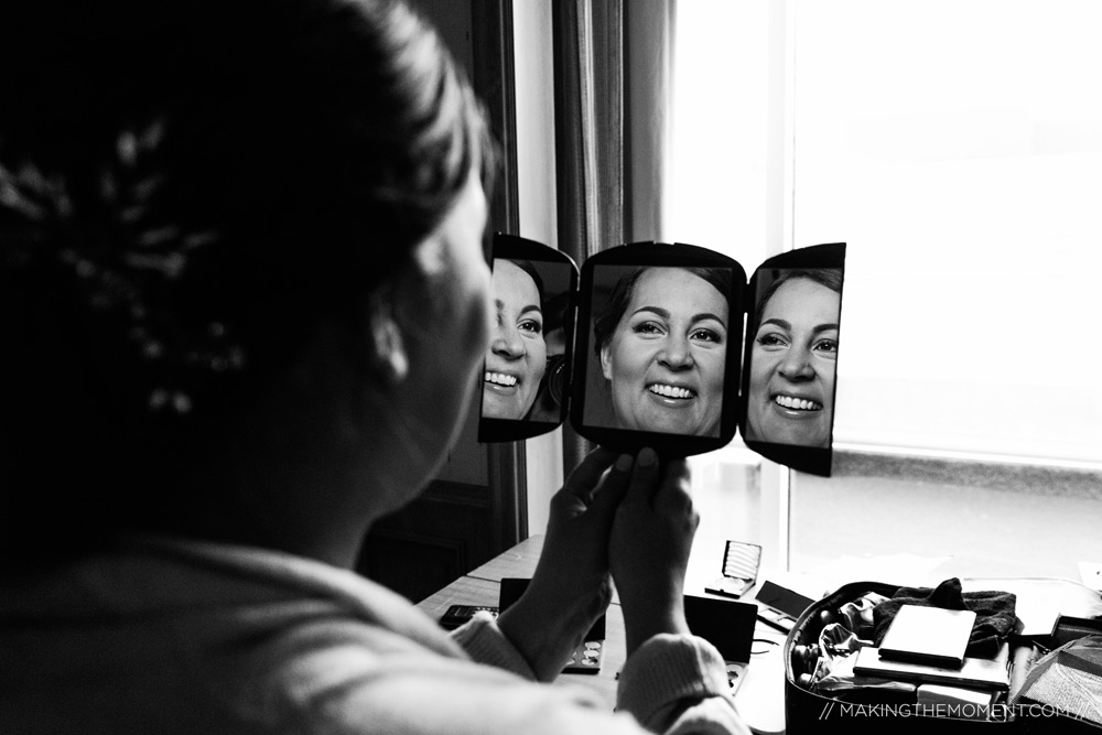 Bride Getting Ready Ideas Cleveland Photographer