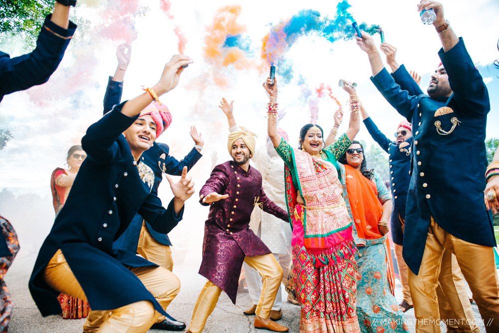 Indian Wedding Barat Cleveland Photographer