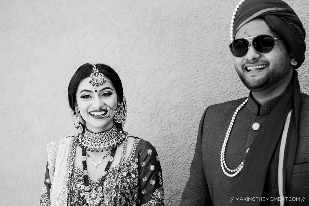 Artistic Indian Couple Wedding Photographer Cleveland