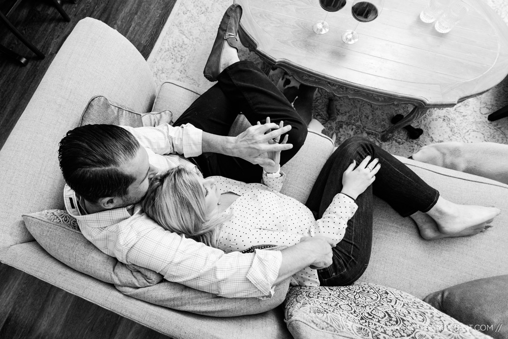 Cute Home Engagement Session Ideas Cleveland