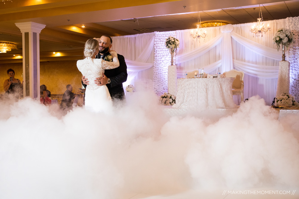 First Ballroom Dance Cleveland Wedding Photographers