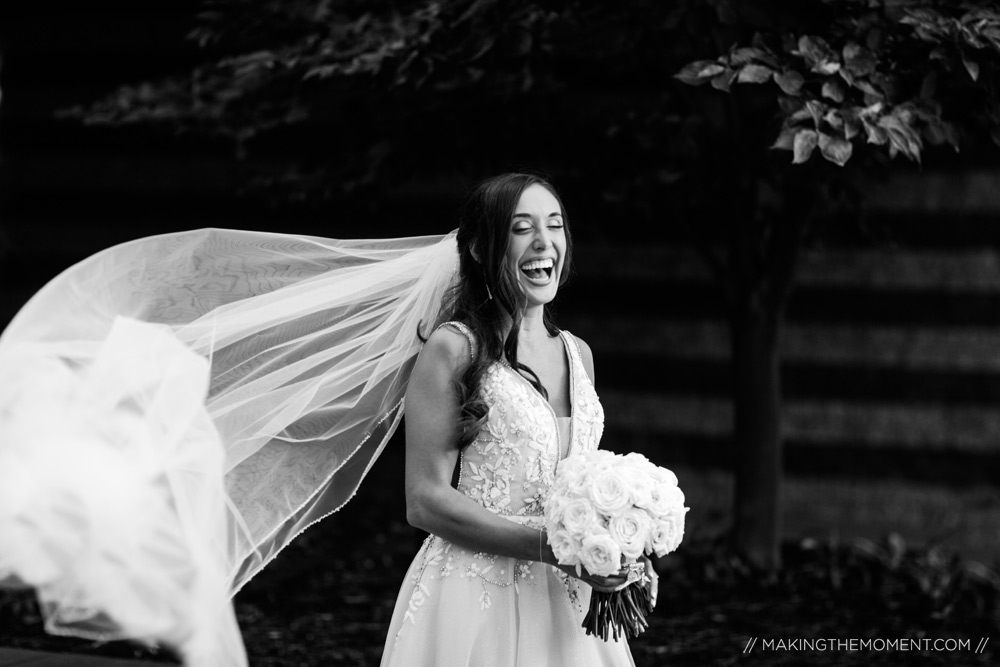 Black and White Wedding Picture Ideas Cleveland Photographer