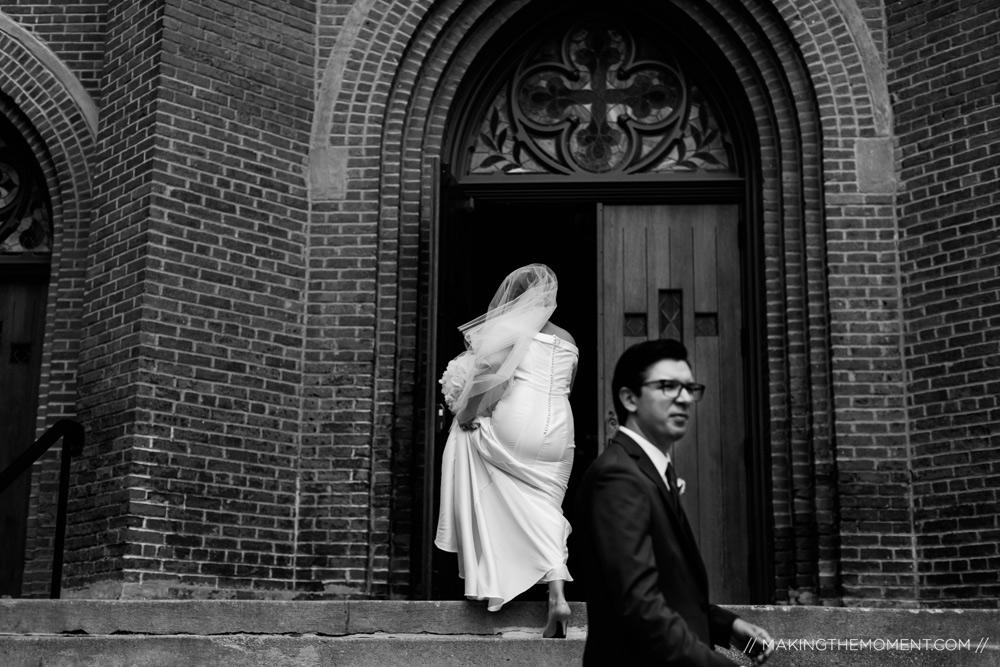 Photojournalistic Cleveland Wedding Photographer