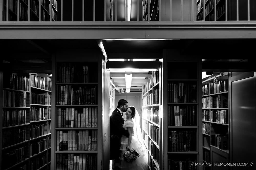 Library Wedding Cleveland Photographer