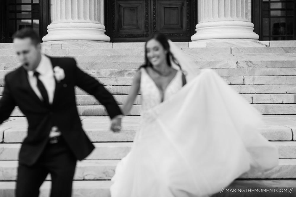 Cleveland Museum of Art Photojournalistic Wedding Photographer