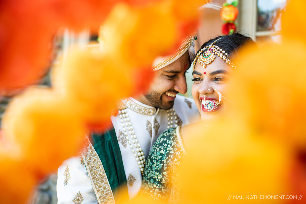 Colorful Experienced Indian Cleveland Wedding Photographer