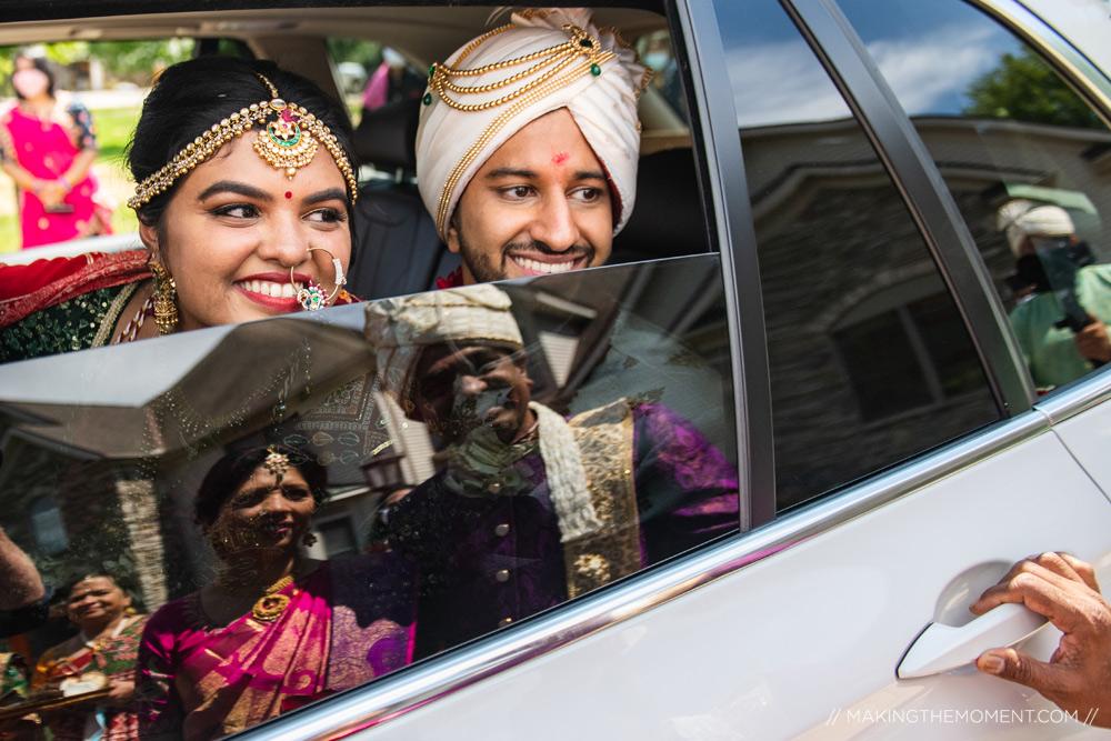 Best Artistic Cleveland Indian Wedding Photographers