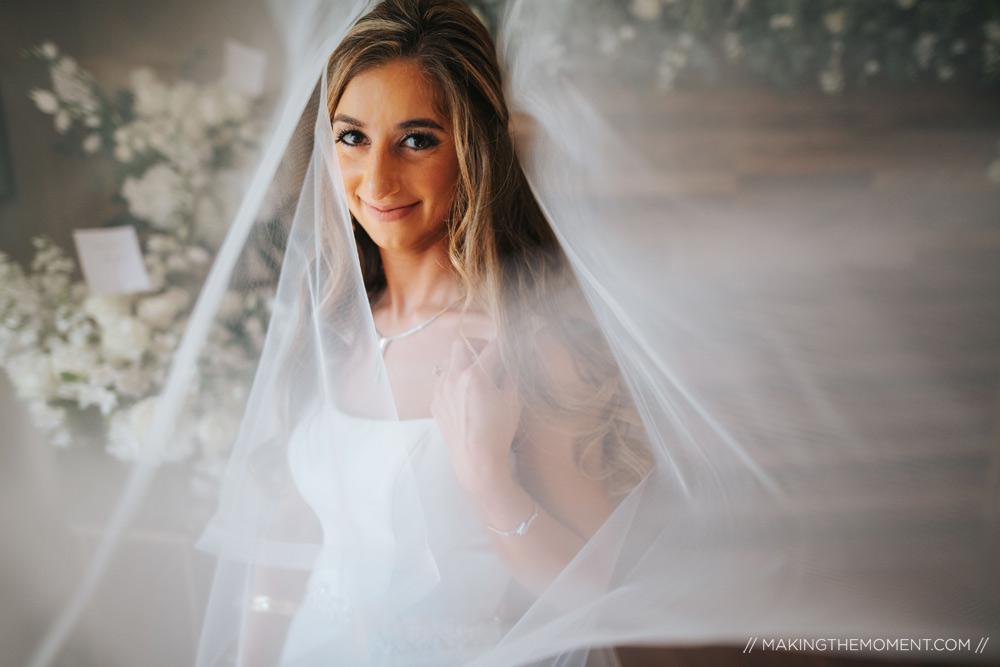 Bride Veil Photographers Cleveland