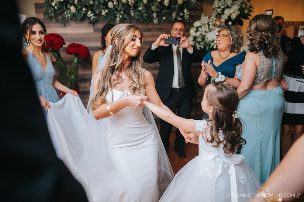 Covid Wedding Ceremony Photographer Cleveland
