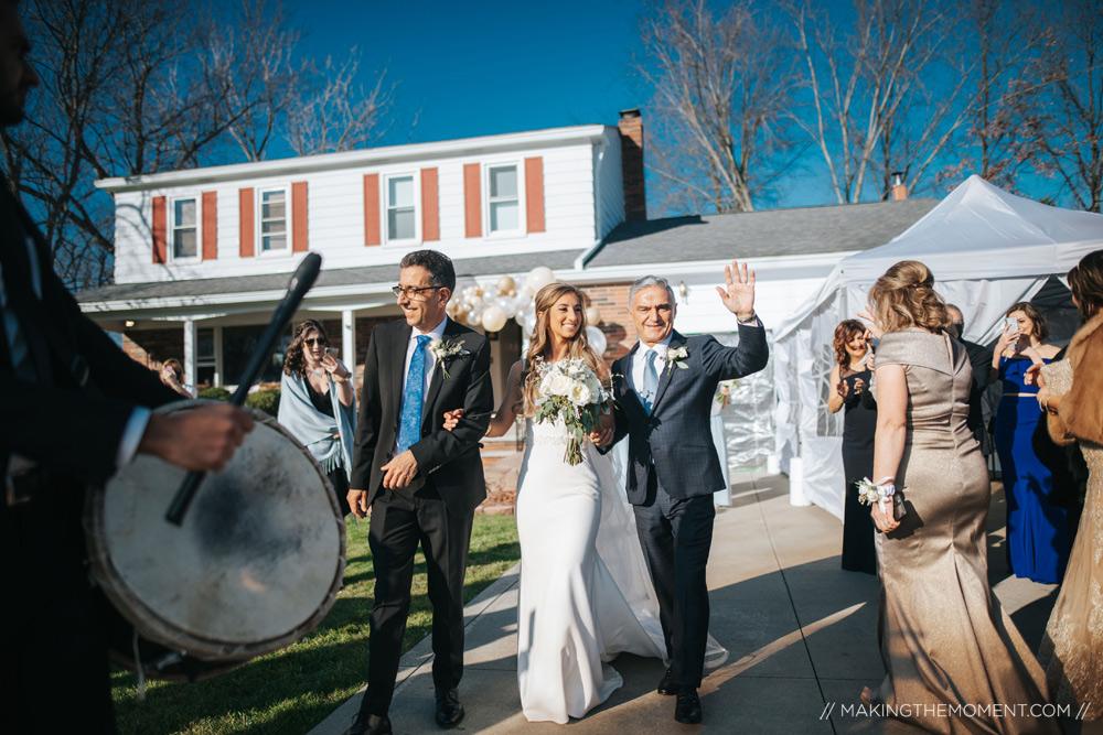 Photojournalistic Cleveland Wedding Photographers