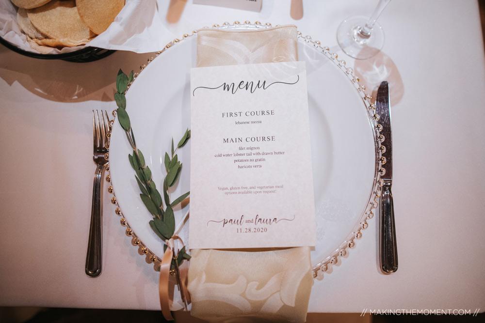 Elegant Cleveland Wedding Reception Photographers