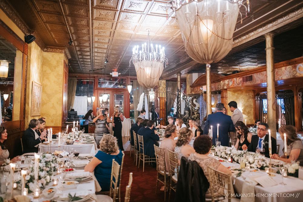 Intimate Wedding Reception Cleveland Photographers