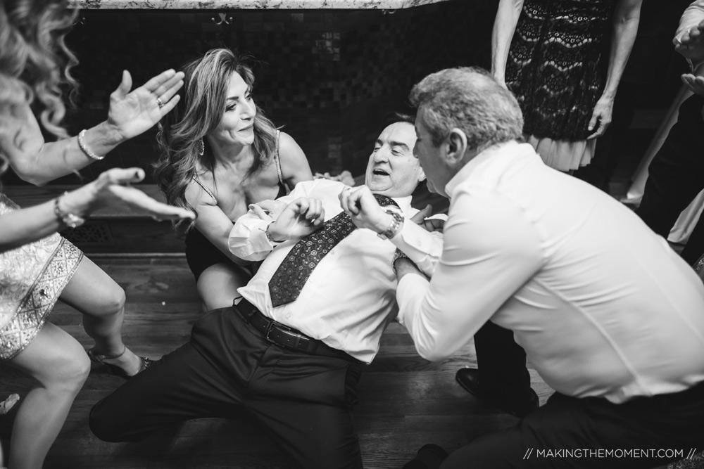Photojournalistic Cleveland Wedding Reception Photography