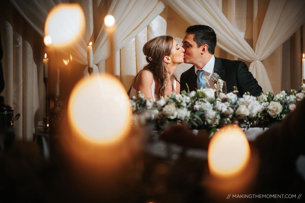 Romantic Cleveland Wedding Reception Photographers
